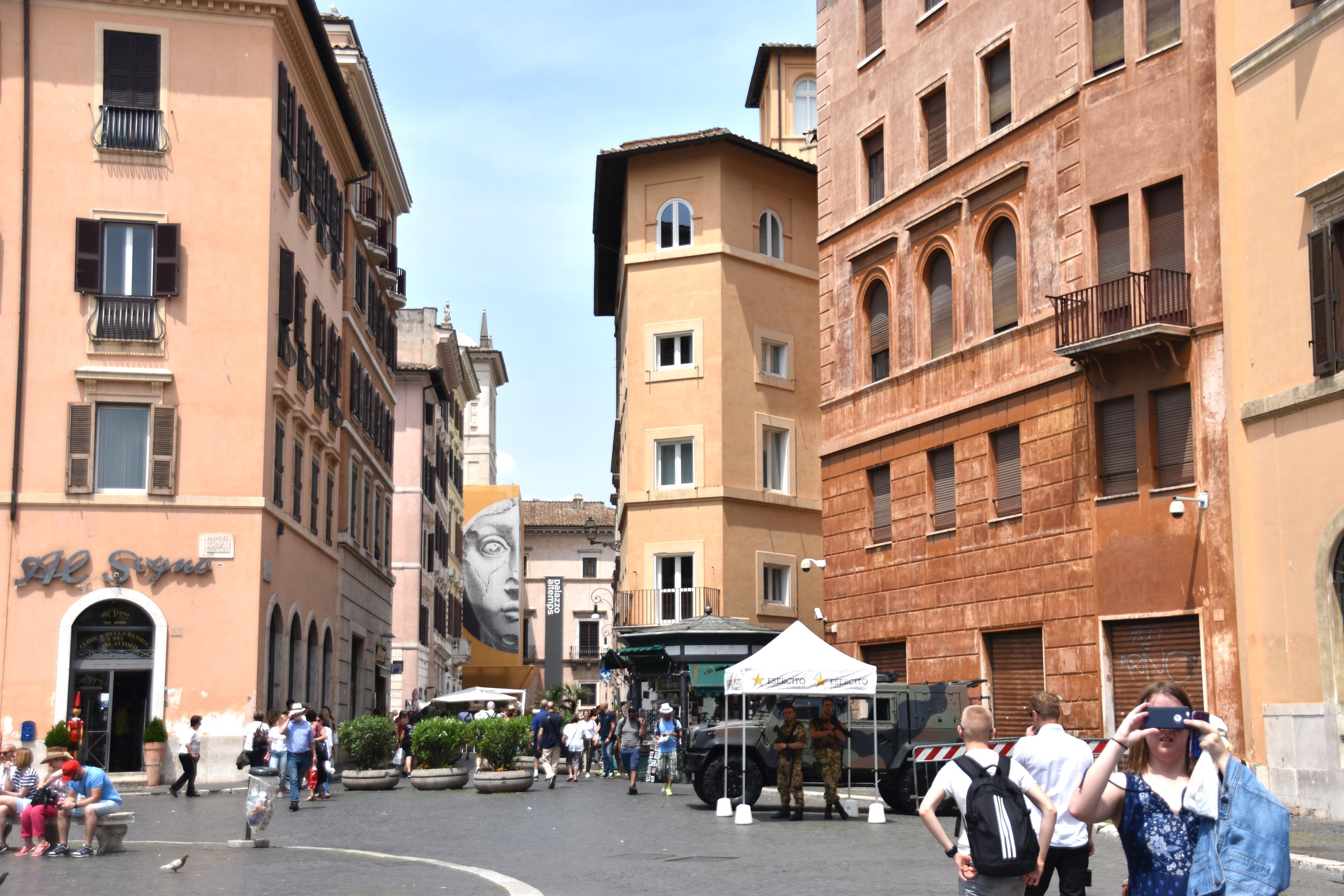 Dimanche à Rome par Justine Grespan