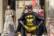 superhéros par Pierre Montant