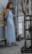 Vestido azul par Rodrigo Alonso